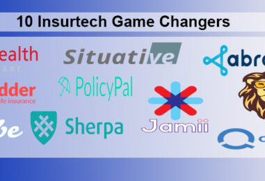 10 Insurtech Game Changers
