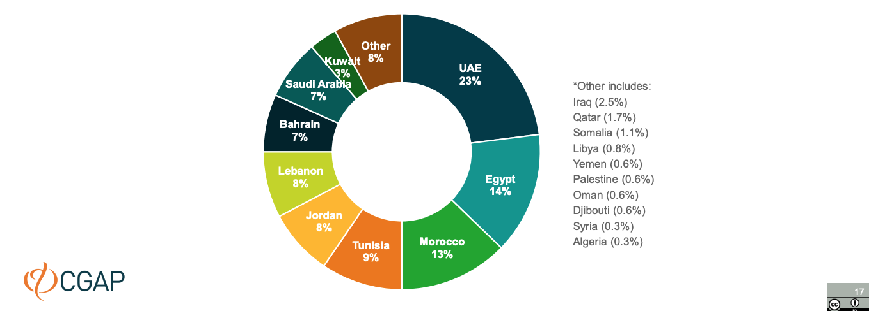 Fintech-solution-geographical-distribution-Fintechs-Across-the-Arab-World-CGAP-Dec-2020