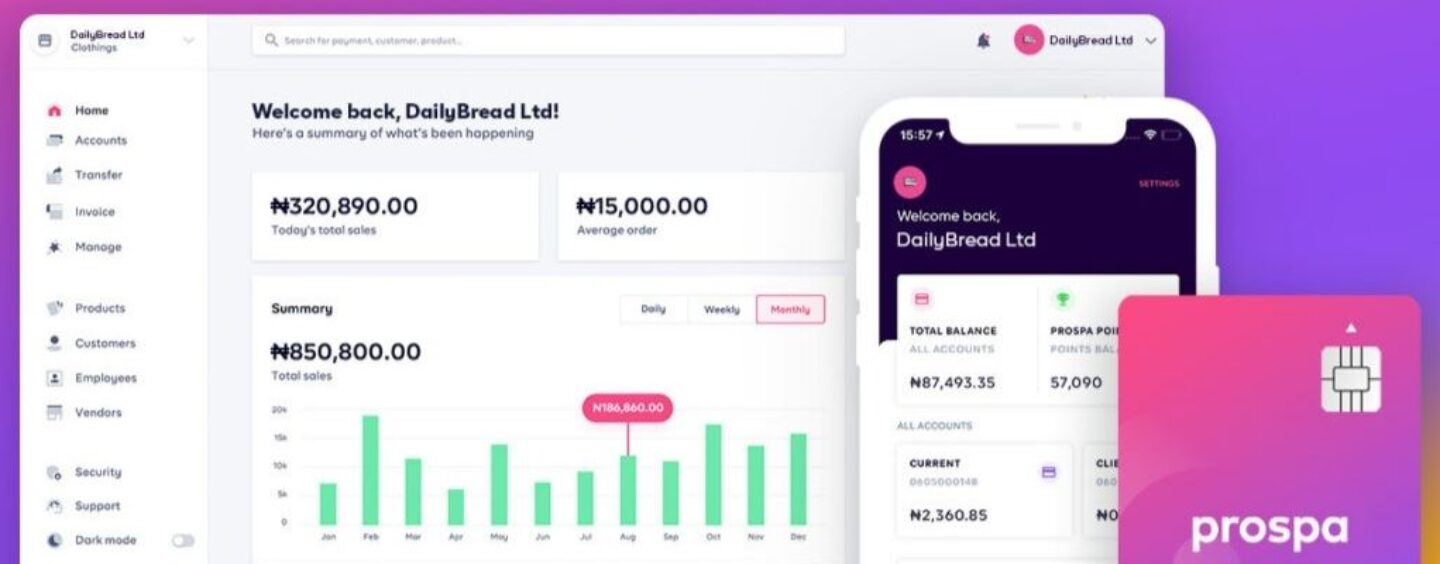 Nigeria's Prospa Raises US$3.8m in Oversubscribed Seed Round